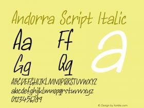 Andorra Script