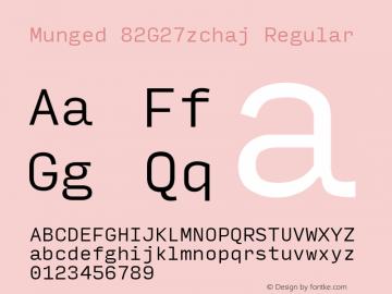 Munged-82G27zchaj