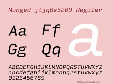 Munged-jtjq6s520D