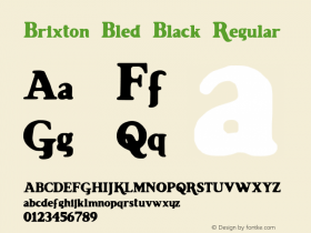 Brixton-Bled Black