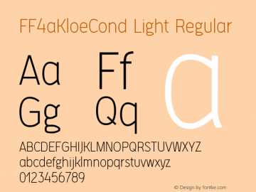 FF4aKloeCond Light