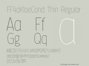 FF4aKloeCond Thin
