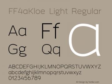 FF4aKloe Light