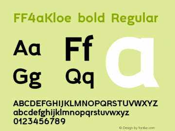FF4aKloe bold