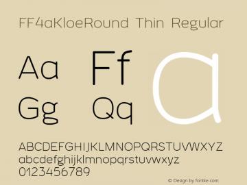 FF4aKloeRound Thin