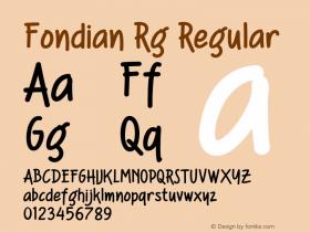 Fondian Rg