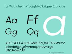 GTWalsheimProLight-Oblique