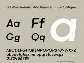 GTWalsheimProMedium-Oblique