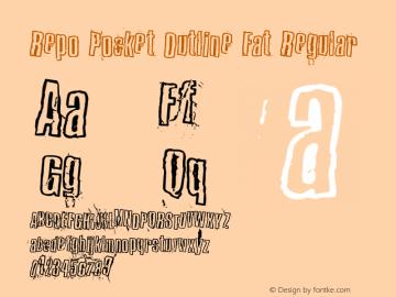 Repo Pocket Outline Fat