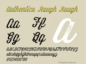 Authentica Rough