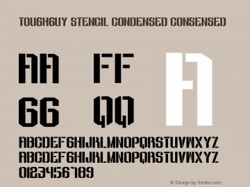 ToughGuy Stencil Condensed