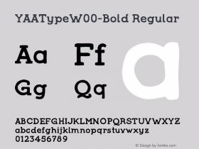YAAType-Bold