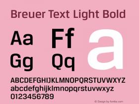 Breuer Text Light