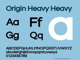 Origin Heavy