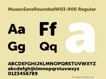 MuseoSansRounded-900
