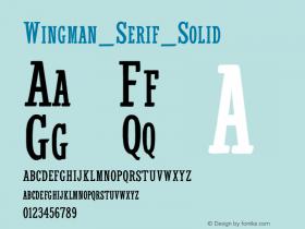 Wingman_Serif_Solid