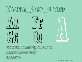 Wingman_Serif_Outline