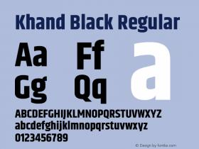 Khand Black