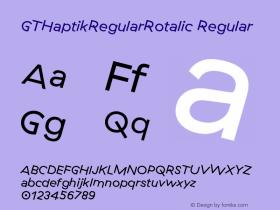 GTHaptikRegularRotalic