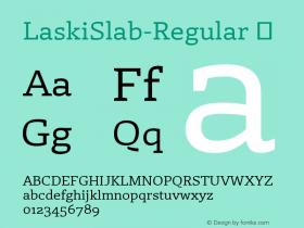 LaskiSlab-Regular