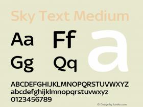 Sky Text