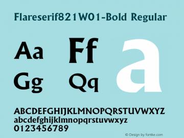 Flareserif821-Bold