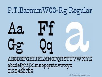 P.T.Barnum-Rg