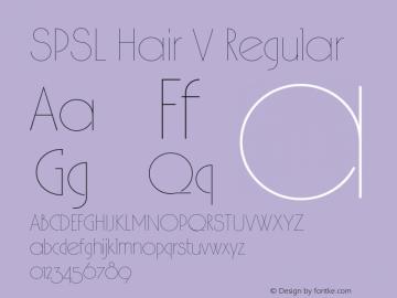 SPSL Hair V