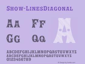 Show-LinesDiagonal