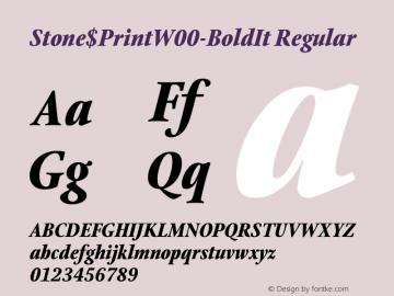 Stone$Print-BoldIt