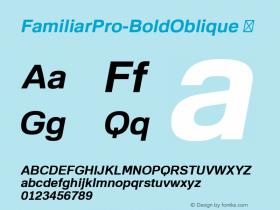 FamiliarPro-BoldOblique