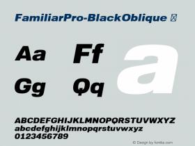 FamiliarPro-BlackOblique