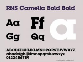 RNS Camelia Bold