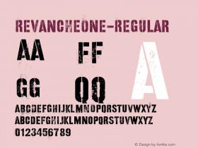 RevancheOne-Regular