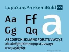 LupaSansPro-SemiBold