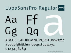 LupaSansPro-Regular