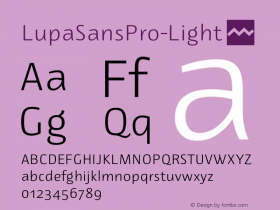 LupaSansPro-Light