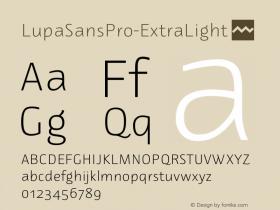LupaSansPro-ExtraLight