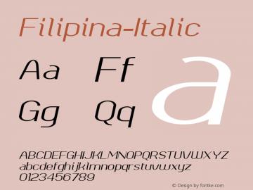 Filipina-Italic