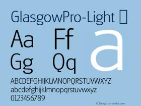 GlasgowPro-Light