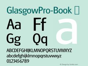 GlasgowPro-Book