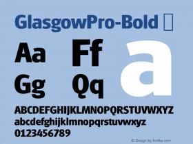GlasgowPro-Bold