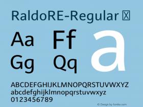 RaldoRE-Regular