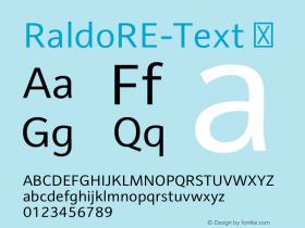 RaldoRE-Text