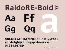 RaldoRE-Bold