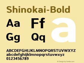 Shinokai-Bold