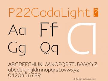 P22CodaLight