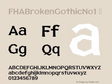 FHABrokenGothicNo1