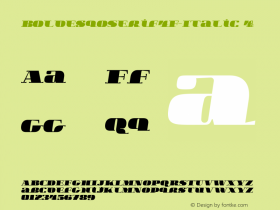 BoldesqoSerif4F-Italic