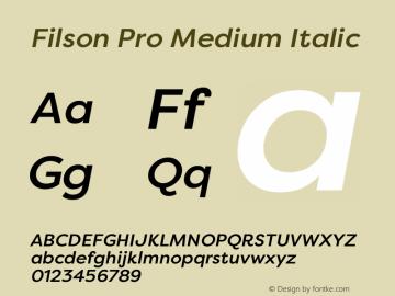 Filson Pro Medium